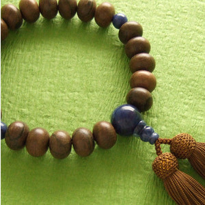 Rosary for men (brown beads)