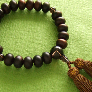 Rosary for men (brown)