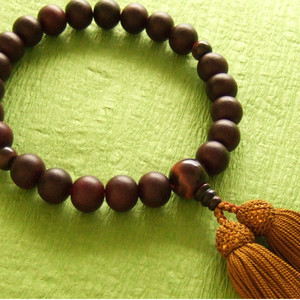 Rosary for men (brown tiger's eye)
