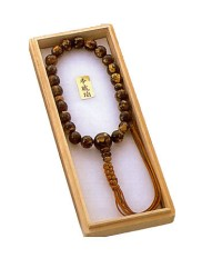 For Male prayer beads Tiger Amber 22