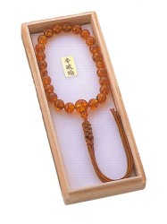For Male prayer beads Amber 22
